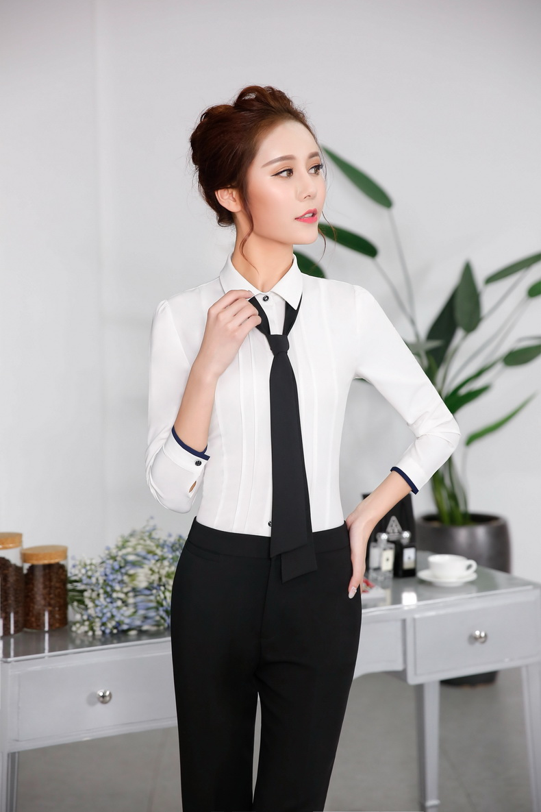 Formal Pants And Blouse Set - Breeze Clothing