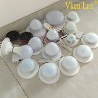 5PCS DHL Free Shipping Factory 48LEDS Super Bright Battery Led Light For Table Chair