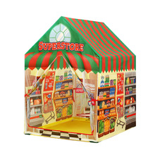 Baby Pretend Play House Toy Folding
