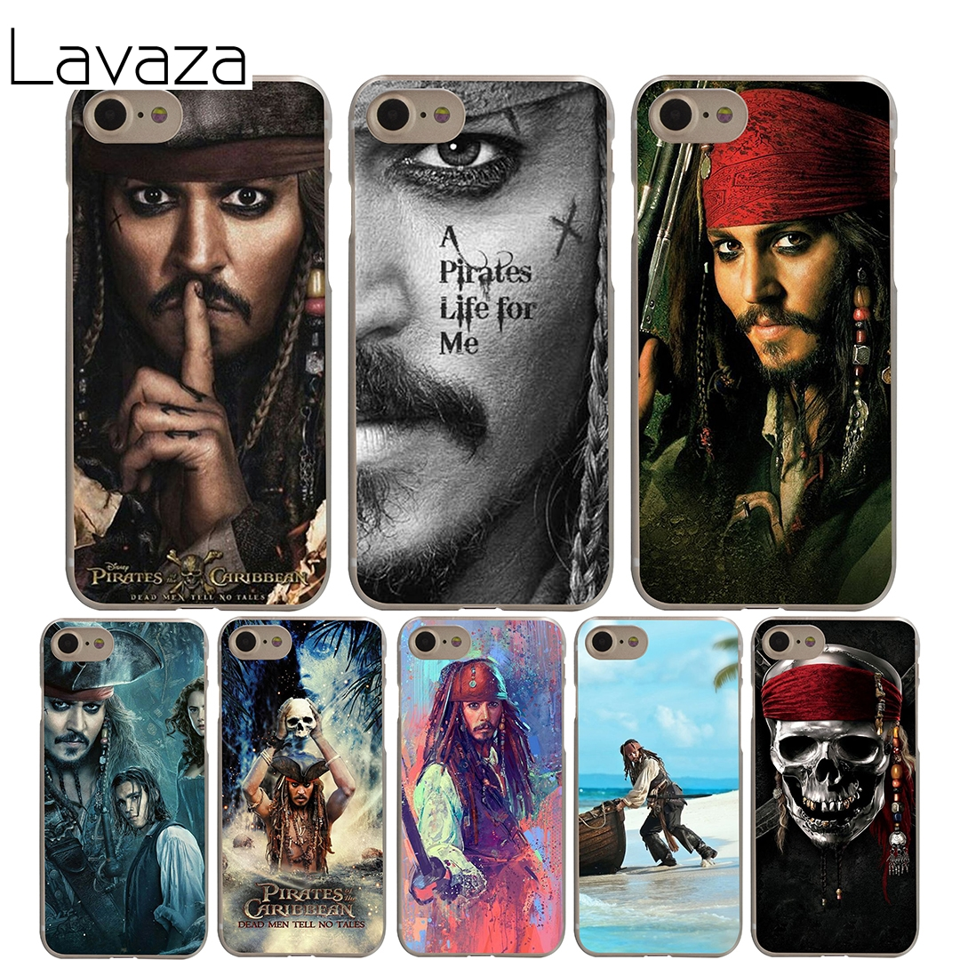 Lavaza Pirates Of The Caribbean Cover Case for iPhone X 10 8 7 6 6S plus Cases for Apple 5 5S 5C SE 4 4S Coque Shell