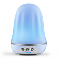 Itronics IT 01 Aroma Essential Oil Diffuser Ultrasonic Air Humidifier 7 Color Changing LED Lights For