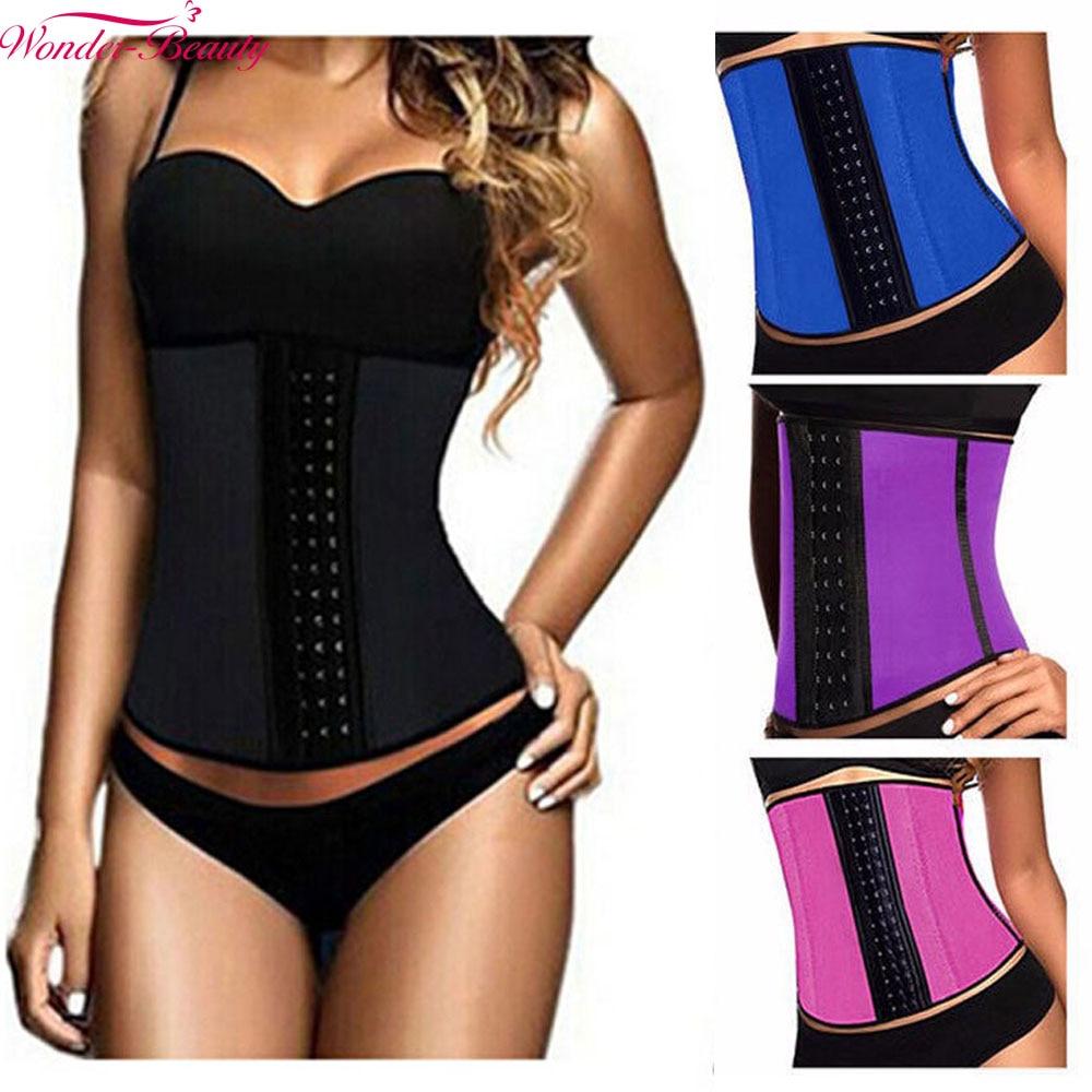 65ecc5674 Online Shop Wonder-Beauty Waist Trainer Hot Shapers Cinta Modeladora Corset Slimming  Shaper Body Shaper Slimming Strap Belt Shapewear-E