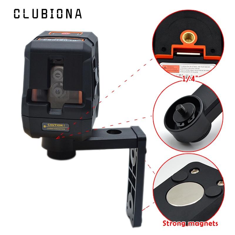 Absturzsicherung Palm genaue cross red laser linien selbstverlaufende empfänger OK level laser 360 dreh mit magnetische halterung