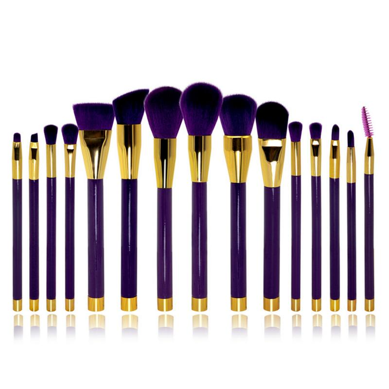 5pcs Beauty Tools Full Professional Makeup Brushes Set Make Up Brush Tools Kit Eyes Lip Makeup Tools Accessories 2016 spring autumn europe china style new tide men canvas casual shoes blue black letters print sewing elastic band flat shoes