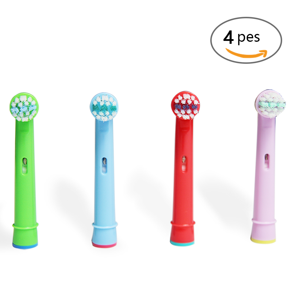 4pcs Tooth Brush Heads Replacement Children kids Brush Heads fit for Oral Pro-Health B Stages Dory Electric Toothbrush