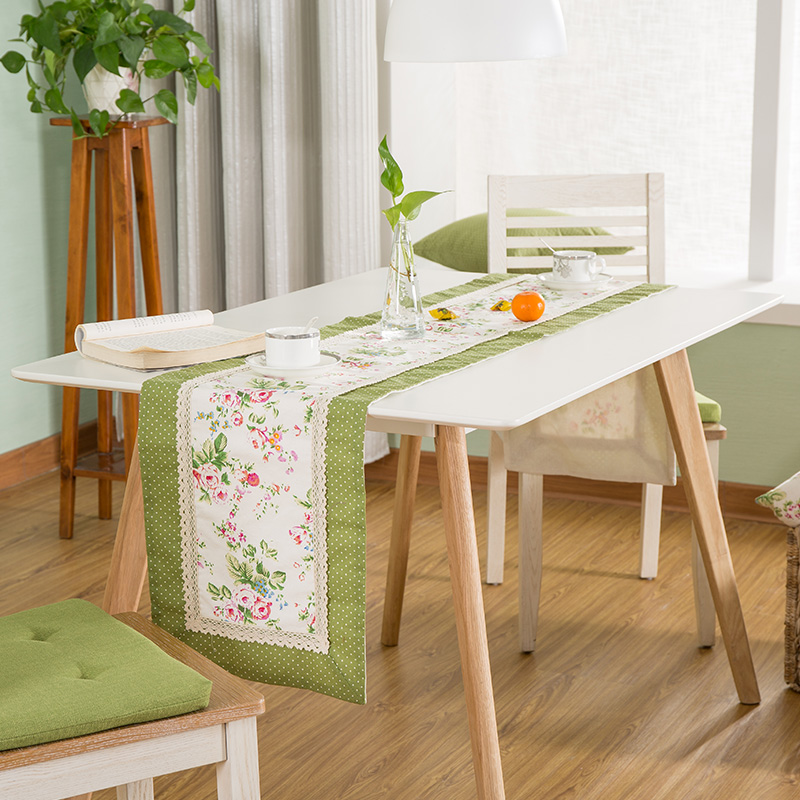 High Grade Home Table decor American style Flowers Ocean Scenic - Home Textile - Photo 2
