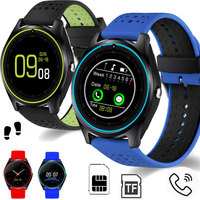 Bluetooth Smart Watch V9 Micro SIM Card 2G With Camera Pedometer Health Sport MP3 Music Clock