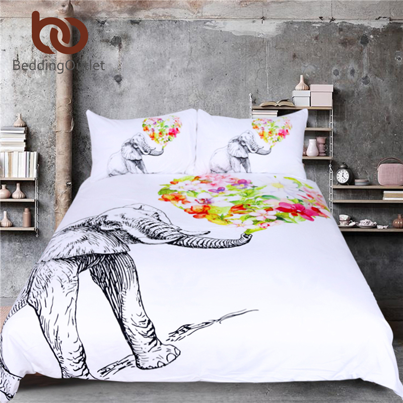 Beddingoutlet Elephant Duvet Cover Set Mandala Bedding