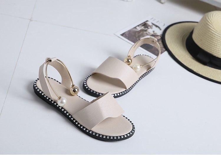 HTB1c7WDE25TBuNjSspcq6znGFXan Women Sandals Flip Flops 2018 New Summer Fashion Rome Slip-On Breathable Non-slip Shoes Woman Slides Solid Casual Female