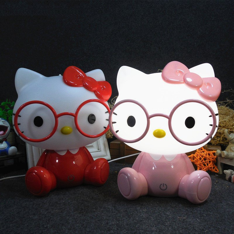 Modern Hello Kitty Night Light Cartoon Led USB Night Lamps for Children Baby Kids Bedroom Christmas Decor Touch Switch LightingModern Hello Kitty Night Light Cartoon Led USB Night Lamps for Children Baby Kids Bedroom Christmas Decor Touch Switch Lighting