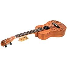 21 inch Soprano Uke 4 Strings Ukulele Sapele flowers guita ukelele acoustic small guitar professional uke Concert стоимость