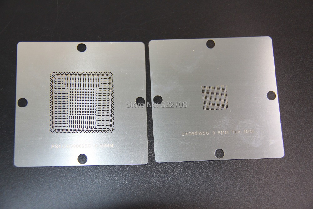 Uustulnukas! BGA Reballing 80mm PS4 šabloon CXD90025G CXD90026G - Elektritööriistade tarvikud - Foto 2