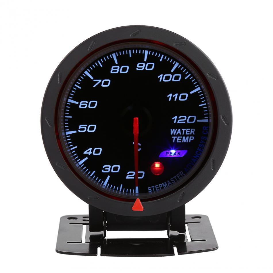 "2/"" 52mm Universal Digital Car Water Temp Temperture Gauge Thermometer Meter Kits"