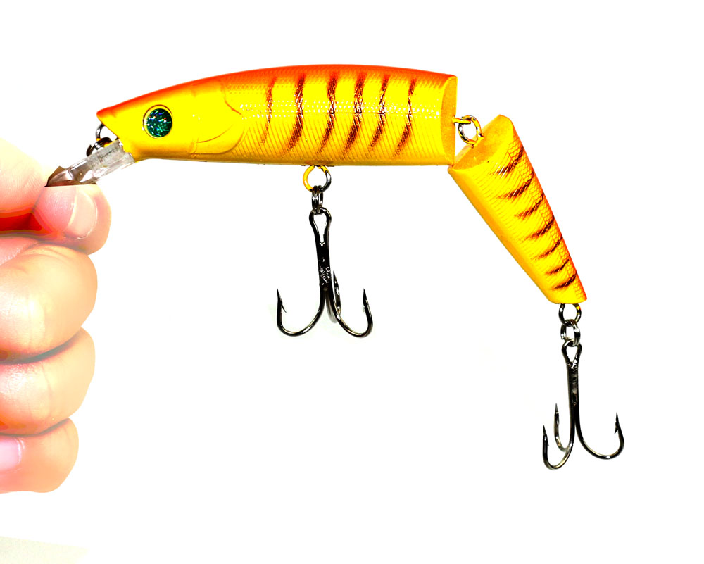 14CM 20.2G Multi Jointed Wobbler Bait 2 Sections Fishing Lure Jerk Cheap Fishing Tackle leurre peche Щипцы