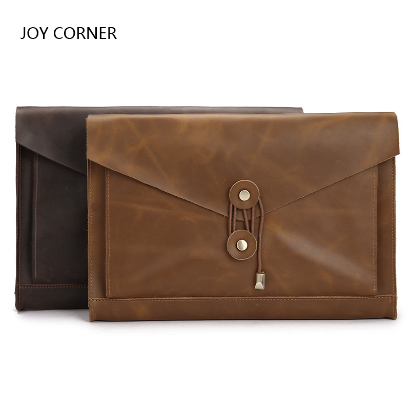 File a4 Folder Organizer Leather A4 Folder Paper Storage Documents School File JOY CORNER STORE Drop Shipping