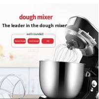 Batedor de ovo elétrico automático de Desktop multi função de batedor de ovos batedeira doméstica misturador pequena massa amassar máquina de mistura da massa 1pc|Batedeiras| |  -