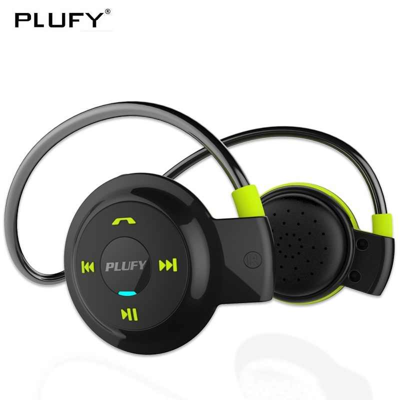 PLUFY Bluetooth Ecouteur sans fil casque sport anti-transpiration casque Auriculares Bluetooth Inalambrico Ecouteur Radio MP3
