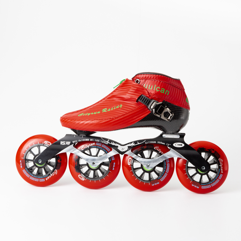 WEIQIU Inline Skates Professionele Slalom Volwassen Rolschaatsen Schoenen Sliding Gratis Skate Patins Size 35 44 Goed Als SEBA sneakers - 6