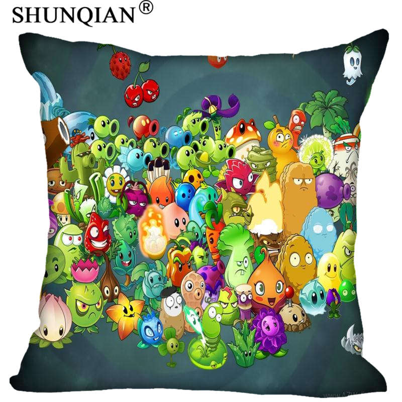 Best Plants Vs Zombies Pillowcase Wedding Decorative Pillow Cover Custom Gift For (Two Sides) Printed Pillow Cases A8.15
