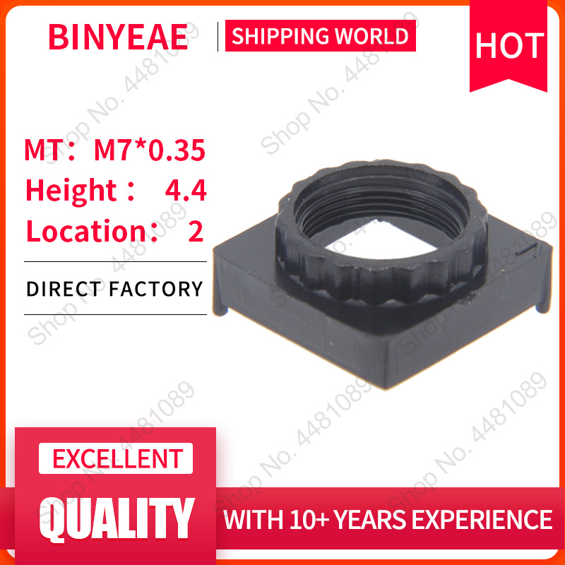 <font><b>Lens</b></font> holder Height 4.4mm <font><b>Lens</b></font> Mount and <font><b>M7</b></font> <font><b>lens</b></font> support for cctv camera PCB IP Board adapter connector image