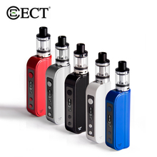 Original ECT Traveler 50W Mod Kit Electronic Cigarette 2200mAh Built-in Battery 510 Thread 2.0ml Big Atomizer Box Starter Kit