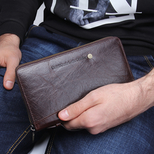 Beautiful and Genuine Leather Men Clutch Wallet