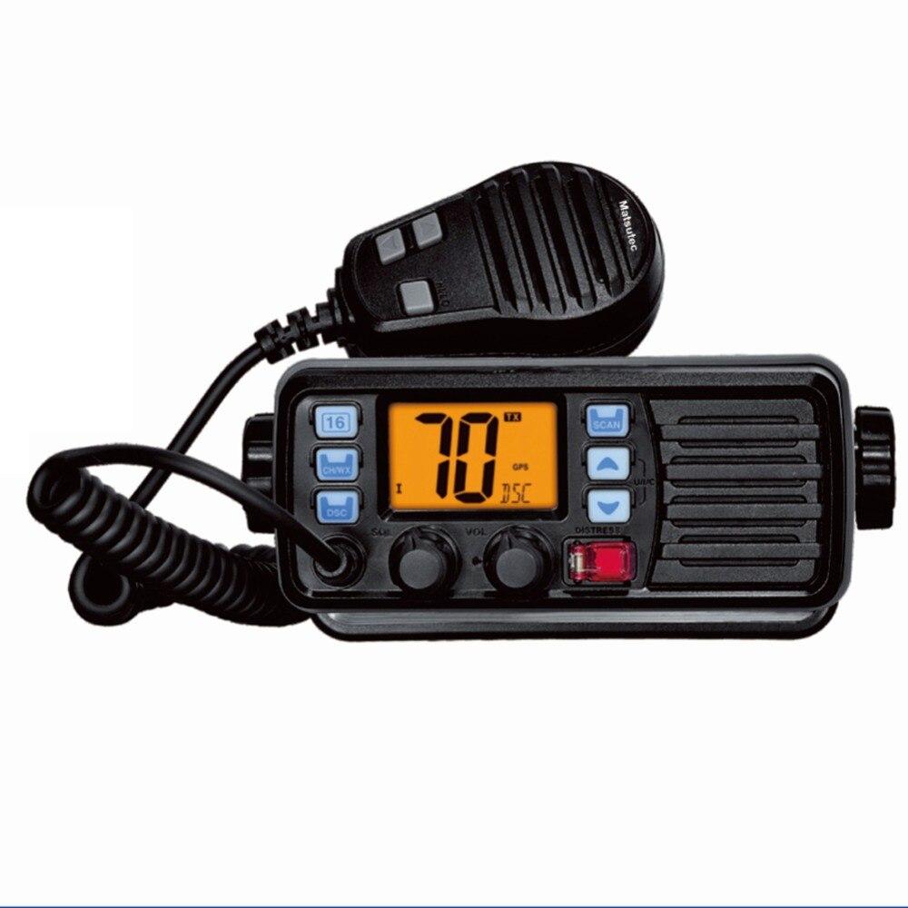 New Matsutec MS 105 VHF Marine Radio Transceiver IP 67 Mobile Radio font b Walkie b