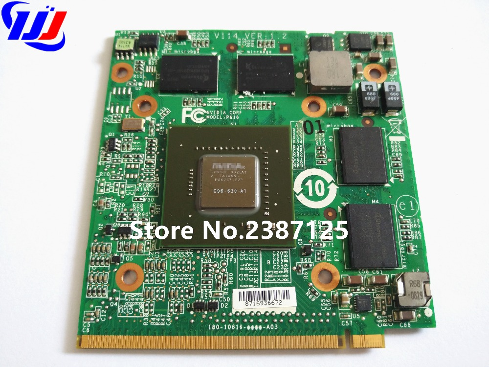 9600M GT 9600MGT VG.9PG06.002 DDR3 512M Graphic VGA Video card for A c e r 6935G 8930G 5 ...