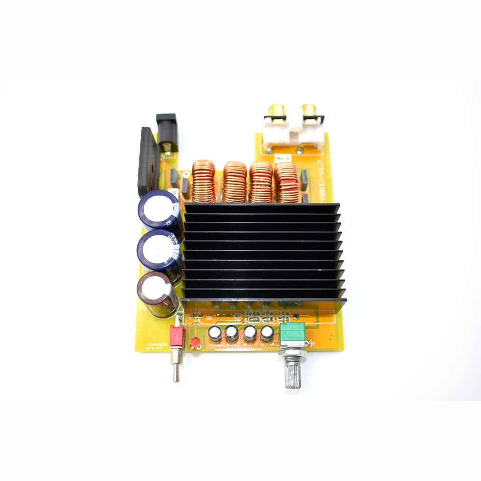 TDA7498E Digital Power Amplifier Assembled Board 160WX2 Double Bridge BTL  Class D Audio Amplifiers Dual Channel DC15V-34V C5-002