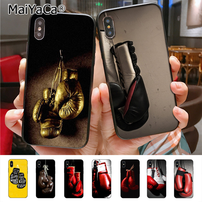 MaiYaCa Boxing Gloves High Quality phone Accessories cover for iPhone