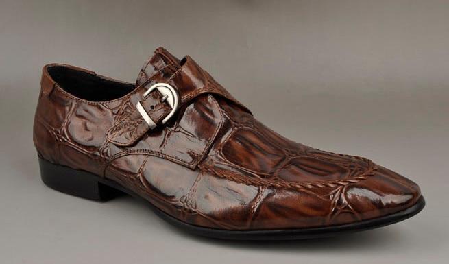 Otoño Negocios Pic Cómodos Hebilla Vestir Primavera De Beige Hombres Punta Moda Transpirable Dedos Zapatos Nueva Correa Masculino as wOxTgqn