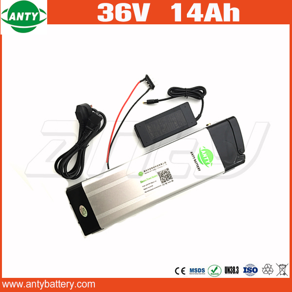 E-Bike Battery 36v 14Ah 800w Lithium Scooter Battery 36v With 42v 2A Charger,36v Electric Bicycle Battery 30A BMS Free Shipping free customs taxes 48v 40ah portable lithium battery with 2000w bms chargrer e bike electric bicycle scooter 48v lithium battery