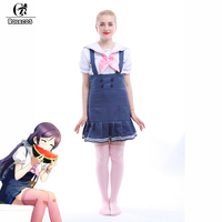 ROLECOS Anime Liebe-live Schule Idol Projekt Cosplay Kostüme Tojo Nozomi Navy Unawakened Cosplay Kostüme Mädchen Seemann Uniformen
