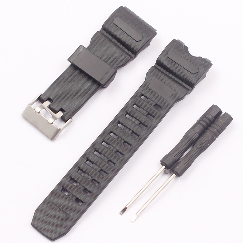 Watch Accessories Applicable for Casio GWG-1000-1A/A3/1A1 GB/GG/GSG-100 Men's Sports Watch Strap image