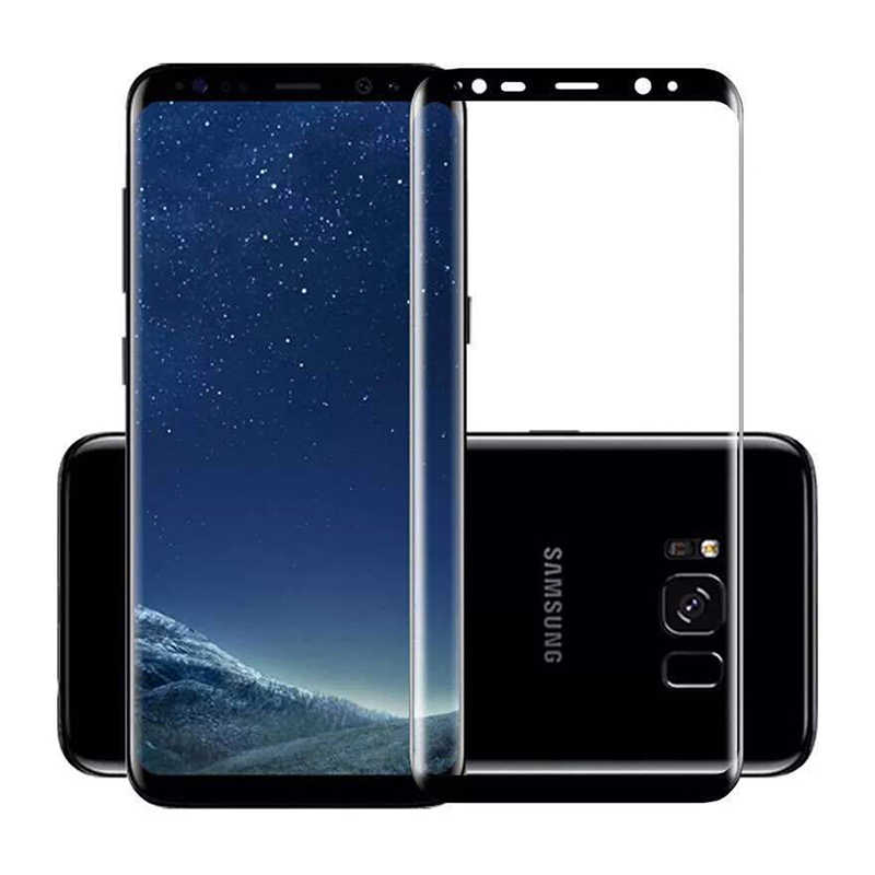 3D Curved Edge Tempered Glass For Samsung Galaxy S9 S8 Plus Safe Protective Glass For Samsung Galaxy S9 S8 Note 8 Front Film