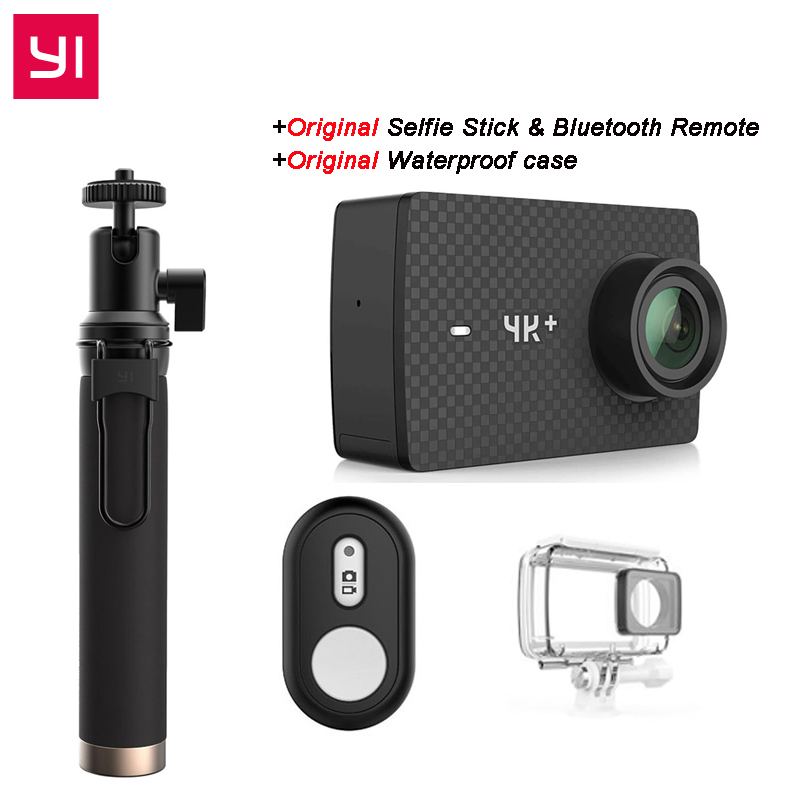 [International Edition] YI 4K Plus Action Camera 155 Degree 2.19 4K/60fps Ambarella H2 Chip EIS USB3.0 4K+ Sports Action Camera