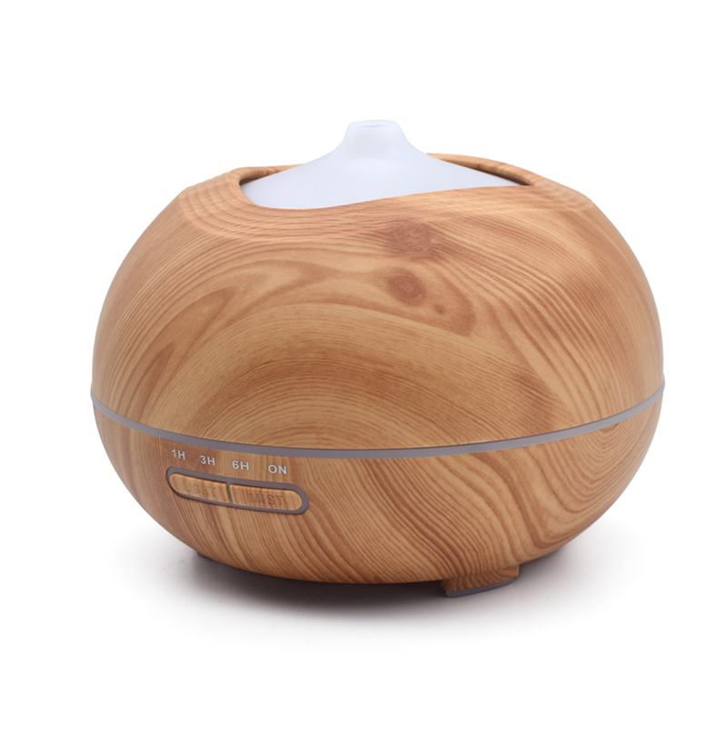400ml Ultrasonic humidifier 7 Color Lights home office bedroom mute colorful aromatherapy machine essential oil diffuser цена