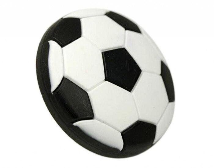 White Black Soft Football Handle Children Cabinet Door Drawer Dresser Cupboard Wardrobe Knob Pulls 40mm