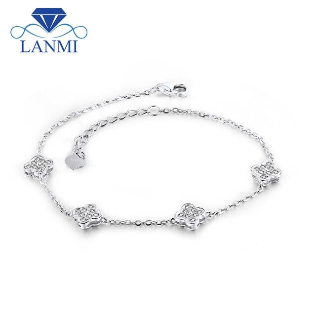 df302f9f3 18k Gold Diamond Engagment Bracelets SI Clarity G-H Color Diamond Bracelet  Womens Wedding Wholesale Jewelry Lovelry Gift NA0030