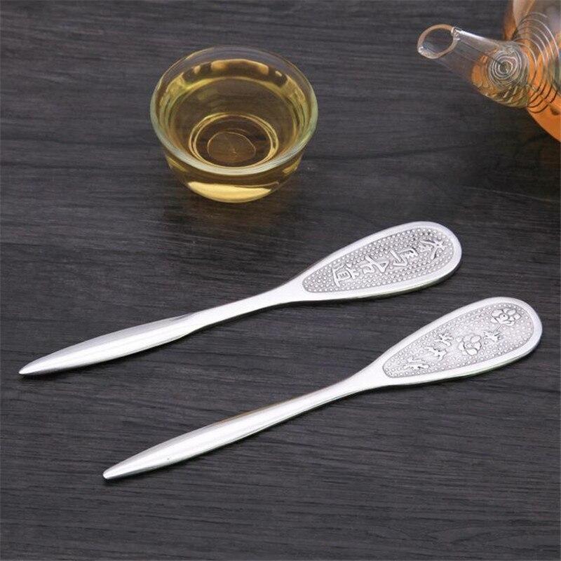 1Pc Stainless Steel Tea Knife Cutter Needle Chinese Style Handcraft Tea Accessories Metal Puer Tea Knife Teaware Tea Cutters
