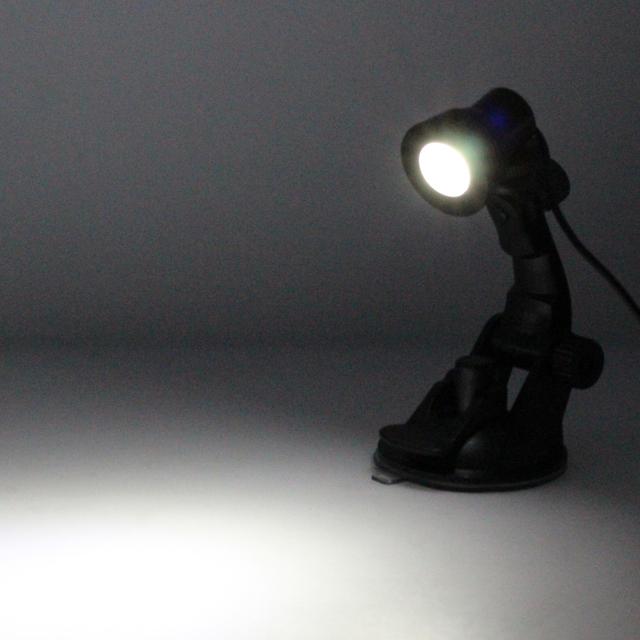 LED Desk Light with Mini Sucker