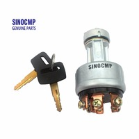 Ignition Switch Starter Switch 08086 10000 With 2 Keys For Komatsu Excavator