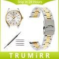 20mm 22mm 24mm das mulheres dos homens pulseira de aço inoxidável para tag heuer carrera aquaracer relógio banda fivela de segurança strap pulseira de pulso