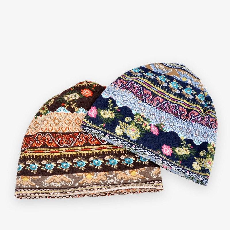 COKK Hüte Für Männer Frauen Mützen Damen Dünne Camouflage Blume - Bekleidungszubehör - Foto 3