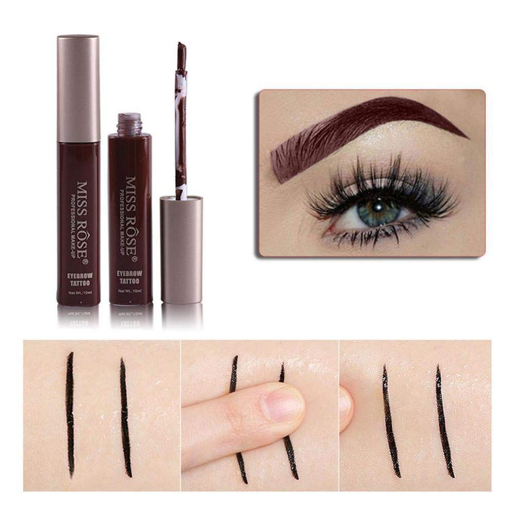 MISS ROSE Eyebrow Cream, Innovative Formula with A Rich Velvety Consistency, Give Your Eyebrows A Professional and Natural Loo