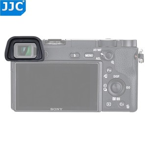 Image 5 - JJC Soft Eyepiece Eye Cup for SONY A6300 A6100 A6000 NEX 6 NEX 7 Replaces FDA EP10 Eyecup dslr FDA EV1S Electronic Viewfinder