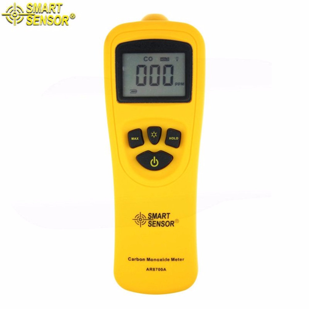 AR8700A Digital Carbon Monoxide Meter CO Monitor Gas Detector цена 2017