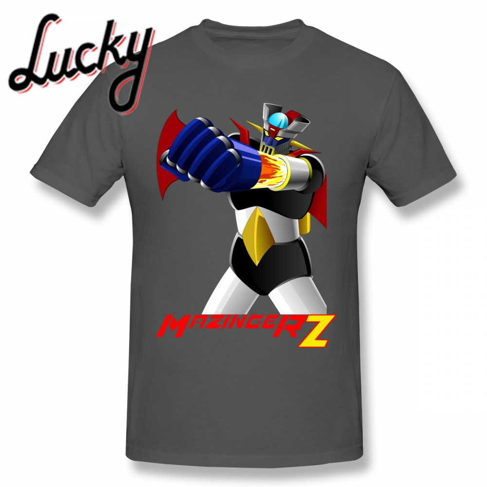 Man <font><b>Mazinger</b></font> <font><b>Z</b></font> <font><b>T</b></font> <font><b>Shirt</b></font> Funny <font><b>T</b></font> <font><b>Shirt</b></font> Hot sale New Arrival Round Neck Tees Fashionable Nice Short-sleeved image