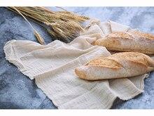 Ins Đạo Cụ Chụp Ảnh Va Đập Họa Tiết Vải Cotton Cho Làm Bánh Mịn Các Loại Thực Phẩm Phông Nền Chụp Ảnh Phụ Kiện Trang Trí Fotografia