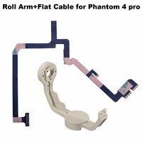 Gimbal Roll Arm Camera Aluminium Bracket Flat Ribbon Cable Flex wire for DJI Phantom 4 Pro Drone Spare Parts Repairing kits